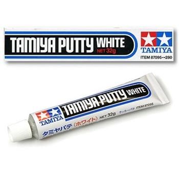 (!) Шпаклевка белая (Basic Type) (время заст. 1мм-1ч) 32гр. тюбик (Putty)
