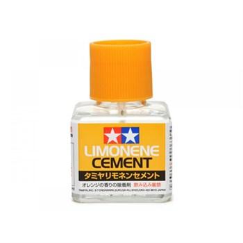 (!) Клей (Limonene Cement) 40мл С Закруч. Крышкой И  Кисточкой (С Запахом Лимона)