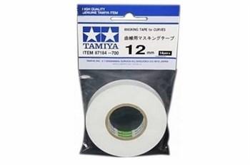 (!) Маскирующая лента шир. 12 мм в рулоне (можно наклеивать волнистой линией)