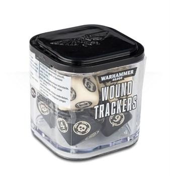 Аксессуары Warhammer: Набор кубиков-счётчиков ранений (Wound Trackers) (кость)