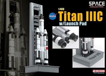Космос  Titan Iiic W/Launch Pad  (1:400)