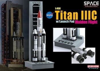 Космос  Titan Iiic W/Launch Pad Maiden Flight  (1:400)