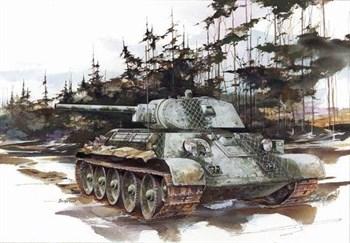 Танк  T-34/76 Mod. 1941 (1:35)