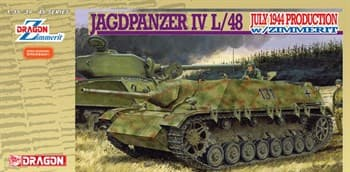 САУ Jagdpanzer IV L/48 July 1944 Production w/Zimmerit (1:35)