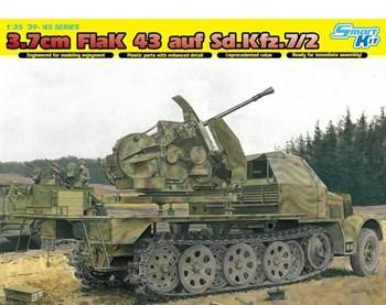 САУ 3.7 см Flak 43 auf Sd.Kfz.7 / 2  (1:35)