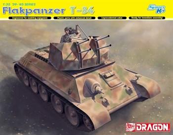САУ Flakpanzer T-34r (1:35)