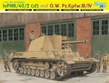 САУ  leFH18/40/2 (sf) auf G.W. Pz.Kpfw.III/IV (1:35)
