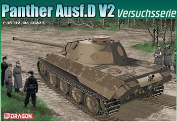 Танк Panther Ausf.D V2 Versuchsserie (1:35)