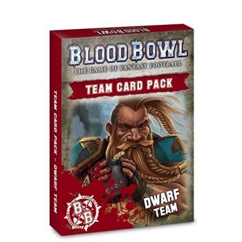 Blood Bowl: Dwarf Team Cards (english)