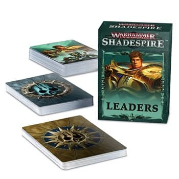 Warhammer: Shadespire Leader Cards (russian)