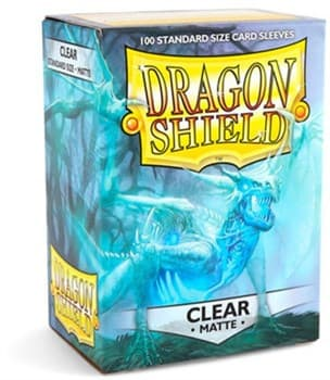 Dragon Shield - Прозрачные матовые протекторы 100 штук