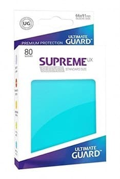 Supreme Sleeves Standard Size Aquamarine (UX)