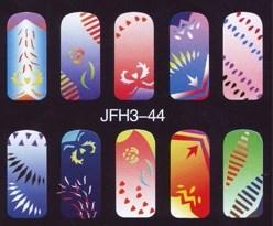 Трафарет для росписи ногтейJFH3-44