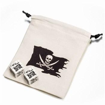 Набор кубиков «Pirate Dice & Bag»