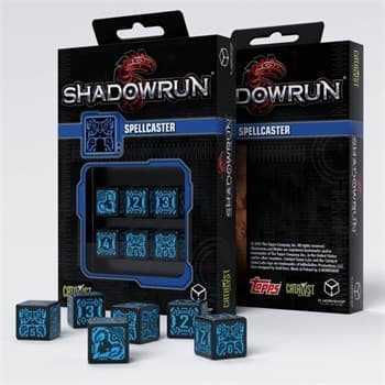 Набор кубиков «Shadowrun Spellcaster»