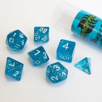 Набор кубиков Role Playing Dice Set - Magic Blue (7 шт, 16 мм)