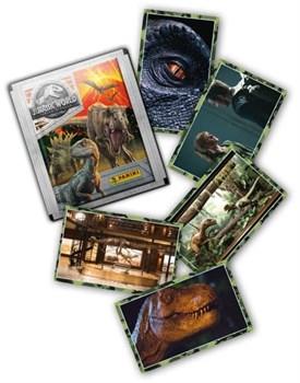 Бустер наклеек Panini Jurassic World Movie 2 (Мир Юрского Периода 2)