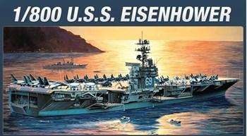 Корабль  Uss Eisenhower (1:800)