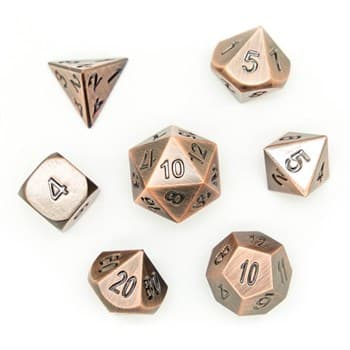 Набор металлических кубиков Ork's Workshop Copper Gnome