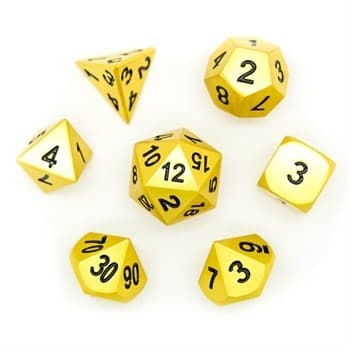Набор металлических кубиков Ork's Workshop Gold Nugget