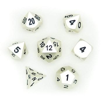 Набор металлических кубиков Ork's Workshop Dark Silver