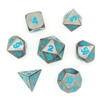 Набор металлических кубиков Ork's Workshop Ancient Stone Blue