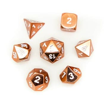 Набор металлических кубиков Ork's Workshop Shiny Copper
