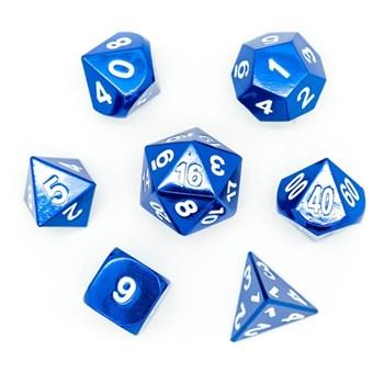 Набор металлических кубиков Ork's Workshop Sapphire Gem