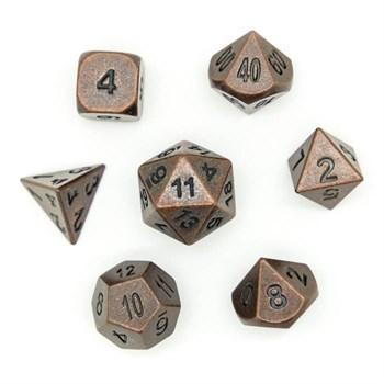 Набор металлических кубиков Ork's Workshop Ancient Copper