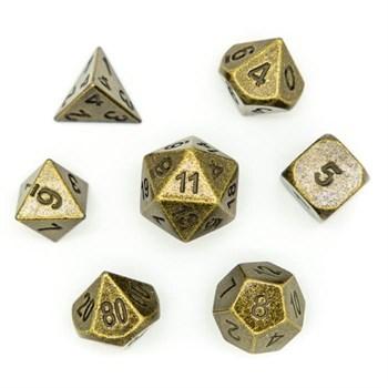 Набор металлических кубиков Ork's Workshop Ancient Bronze