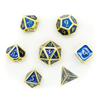 Набор металлических кубиков Ork's Workshop Imperial Gold