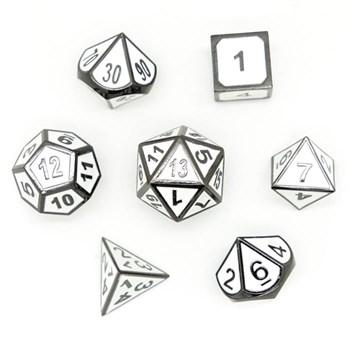 Набор металлических кубиков Ork's Workshop Black & White Metal