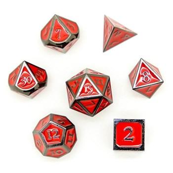 Набор металлических кубиков Ork's Workshop Dragon's Blood