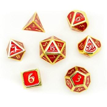 Набор металлических кубиков Ork's Workshop Red Treasure