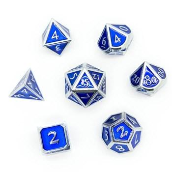 Набор металлических кубиков Ork's Workshop Imperial Silver