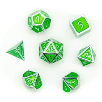 Набор металлических кубиков Ork's Workshop Leprechaun Silver