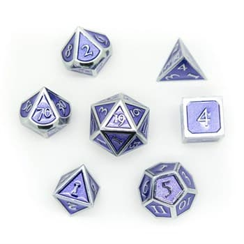 Набор металлических кубиков Ork's Workshop Purple Mist