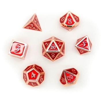 Набор металлических кубиков Ork's Workshop Fireball Red
