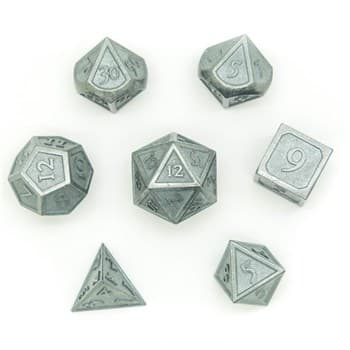 Набор металлических кубиков Ork's Workshop Grey Knight