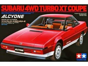 1/24 Subaru 4WD Turbo XT Coupe Alcyone