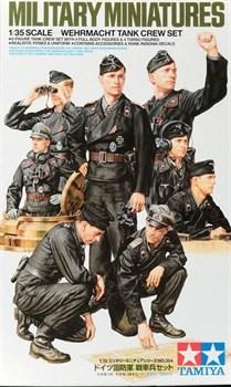 Немецкие танкисты, 8 фигур.