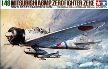 1/48 А6М3 Type 32 Zero Fighter (Hamp)