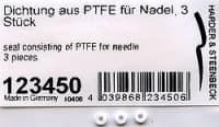 Уплотнитель из PTFE для иглы, 3 шт., для всех моделей HANSA, кроме COLANI