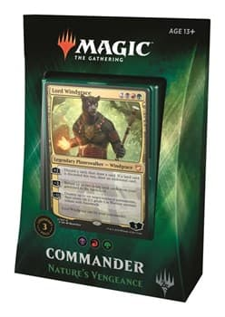 Nature's Vengeance Commander 2018