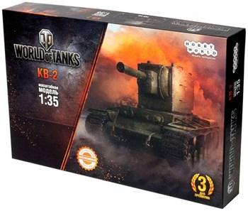 World of Tanks. КВ-2. Масштабная модель 1:35 (Сборный танк) (2-е рус. изд.)