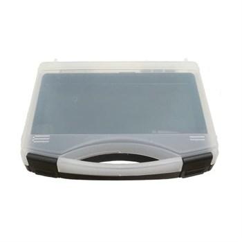 case 235 x 185 x 48 mm, black/transparent for XL2000, Evolution SILVERLINE M and Hansa 681 set / Кейс для хранения аэрографа XL2000, Evolution SILVERLINE M или Hansa 681