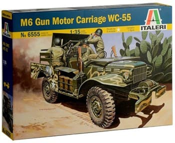 Автомобиль M6 Gun Motor Carriage WC-55  (1:35)