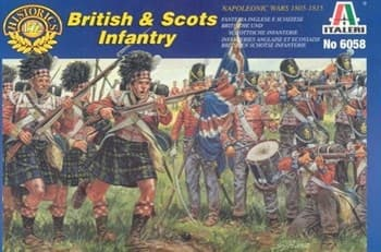 Солдаты British and Scots Infantry  (1:72)