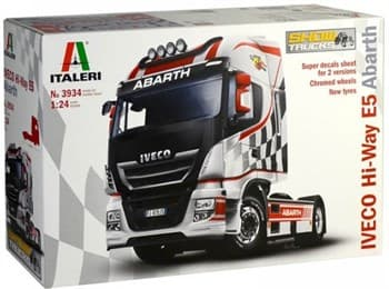 Автомобиль Iveco Hi-Way E5 Abarth  (1:24)