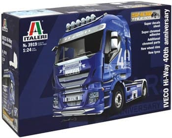 Автомобиль IVECO HI-WAY 40th ANNIVERSARY   (1:24)